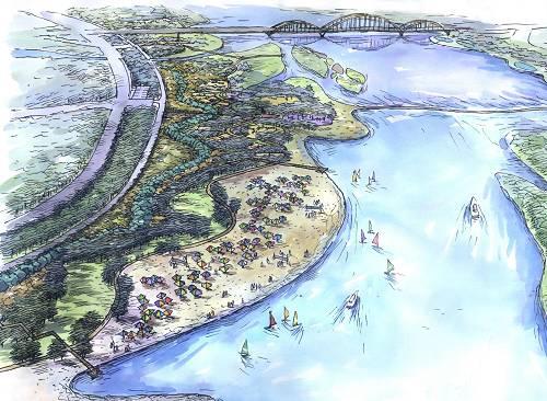 滦河迁西县城段景观工程设计欣赏