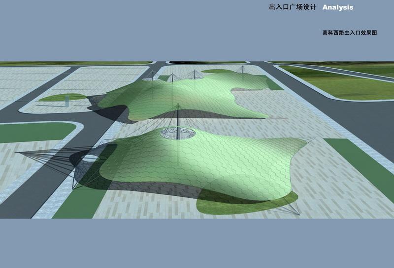 盛叶夏树设计作品展示:上海世博会场地设计_公共空间