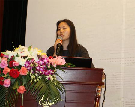 武汉园林设计院副院长,总工李芳; 风景园林师论坛 第九届园博会
