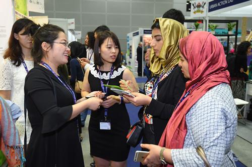 住建部副部长倪虹出席第九届世界城市论坛并参观展览